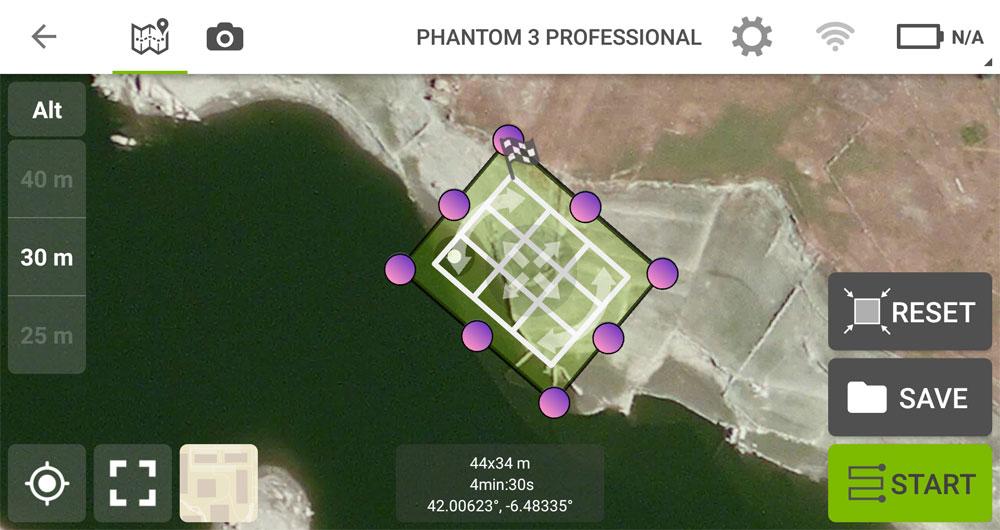 Vuelos de drones con misiones cruzadas