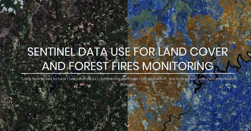 Curso gratuito de monitoreo de incendios y usos del suelo