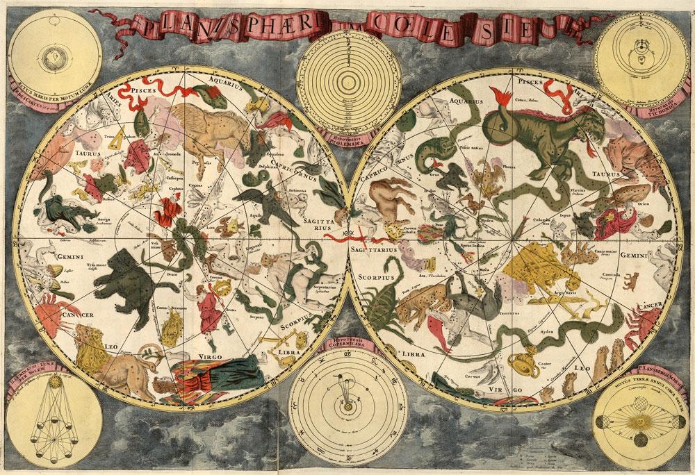 Mapas celestes antiguos
