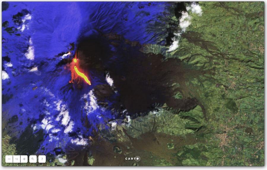 Estudios de vulcanismo y geología en CARTO