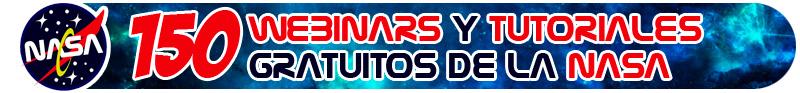 Webinar gratuitos NASA