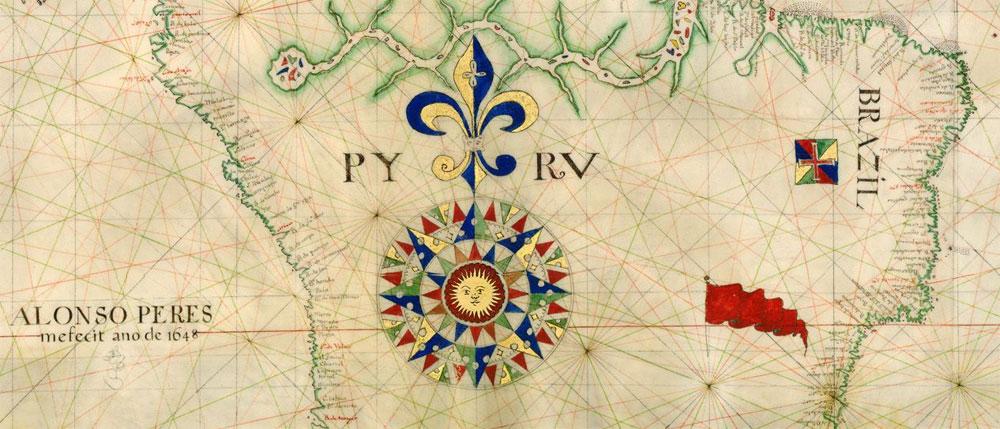 Carta nautica de Alonso Peres