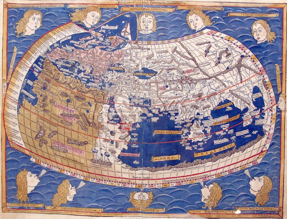 Mapa de Ptolomeo