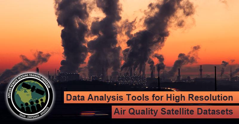 Webinar Analisis de la calidad del aire mediante teledetección