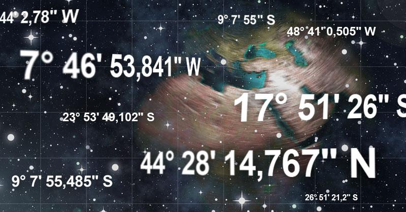 Convertir coordenadas decimales a grados, minutos y segundos