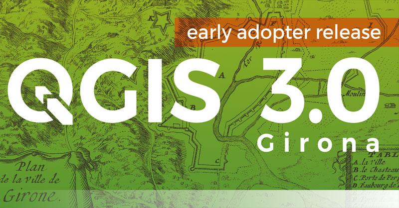 Descargar QGIS 3 Girona