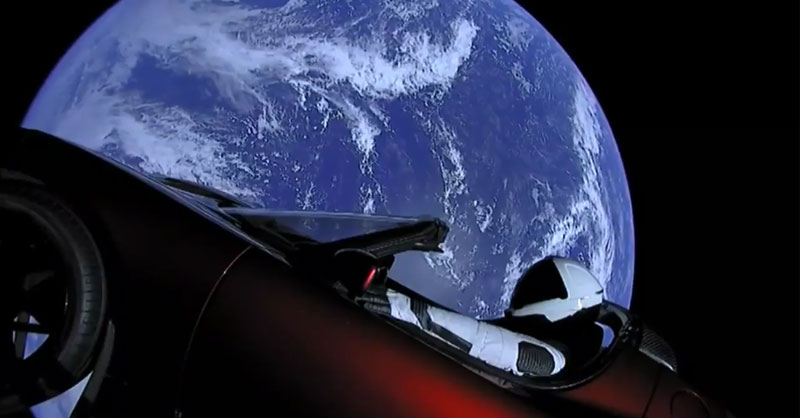 Imágenes satélite del Falcon Heavy en tiempo real