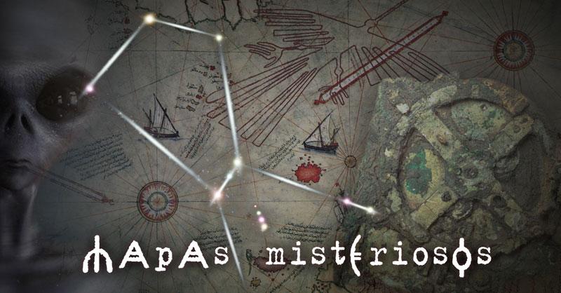 Mapas misteriosos y astrolabios