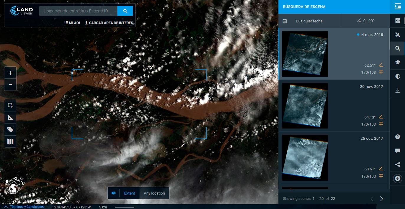 Descarga imágenes satélite NAIP