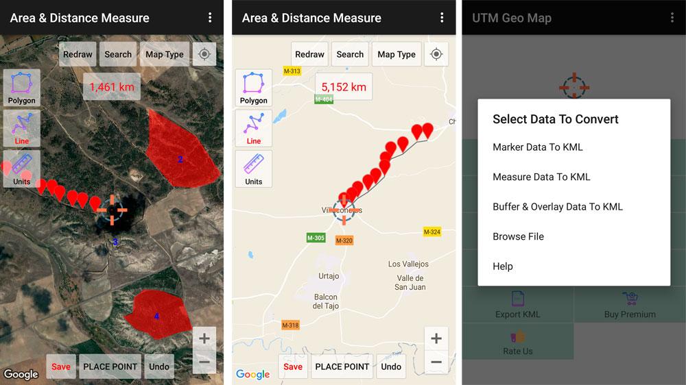 Digitalización de cartografía con aplicación GPS
