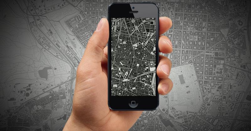 Generador de mapas para fondos de pantalla móviles