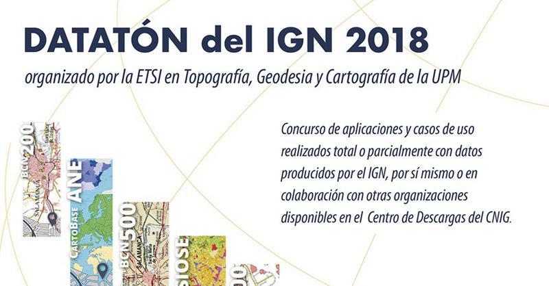 Concurso DATATÓN IGN 2018