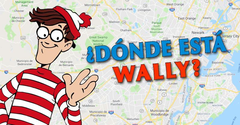 Dónde está Wally para Google Maps