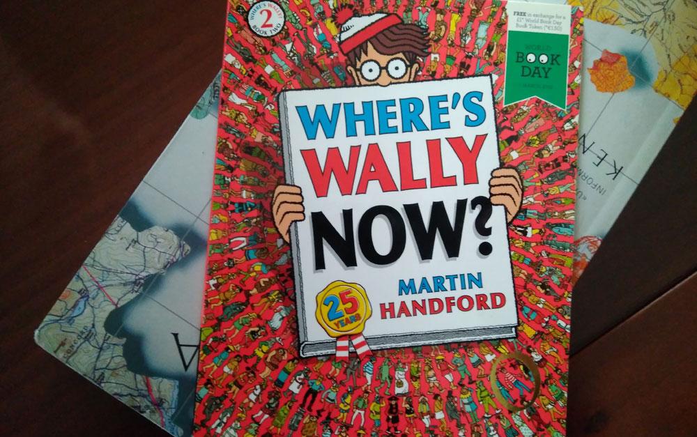 Libro Dónde está Wally