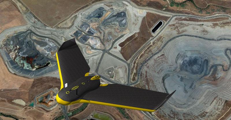 Webinar de aplicación de drones en minería y canteras