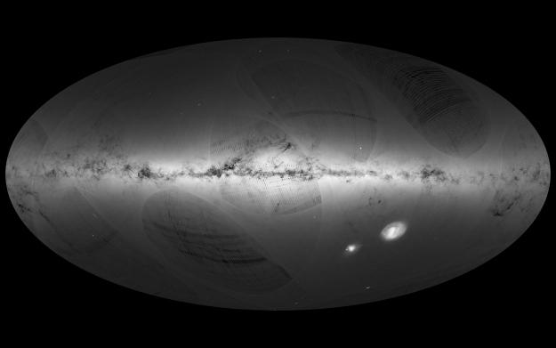 El mapa incompleto de la Vía Láctea