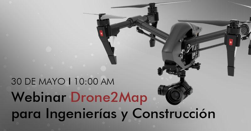 Webinar Drone2Map for ArcGIS para ingenierías y construcción