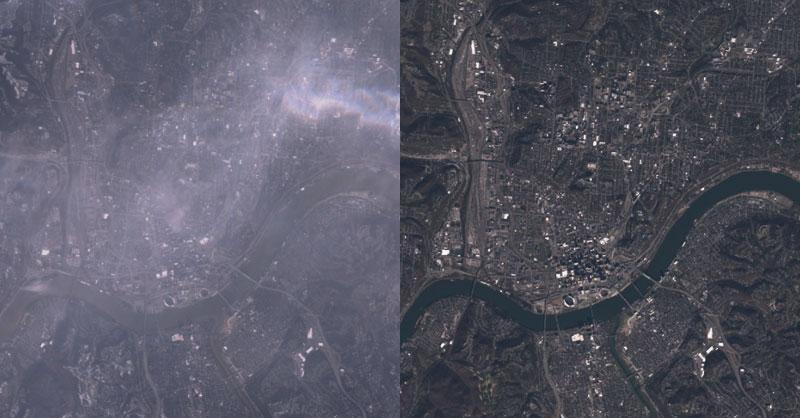 Corrección atmosférica con GEOBIA para ArcGIS