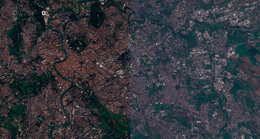 Corrección atmosférica de Landsat 8