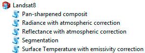 Corrección atmosférica con GEOBIA