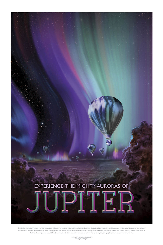 Posters de la NASA Júpiter