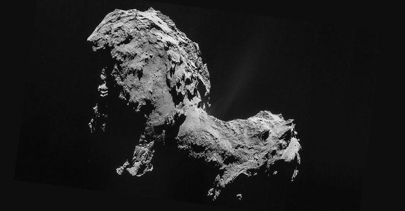 Disponibles las imágenes de la sonda Rosetta
