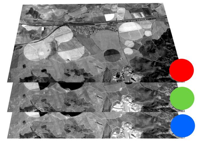 Composición RGB en imágenes satélite