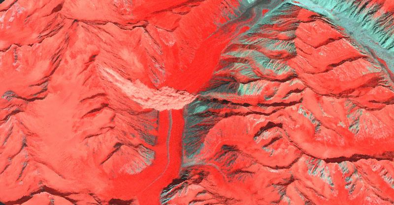 Análisis de avalanchas con teledetección
