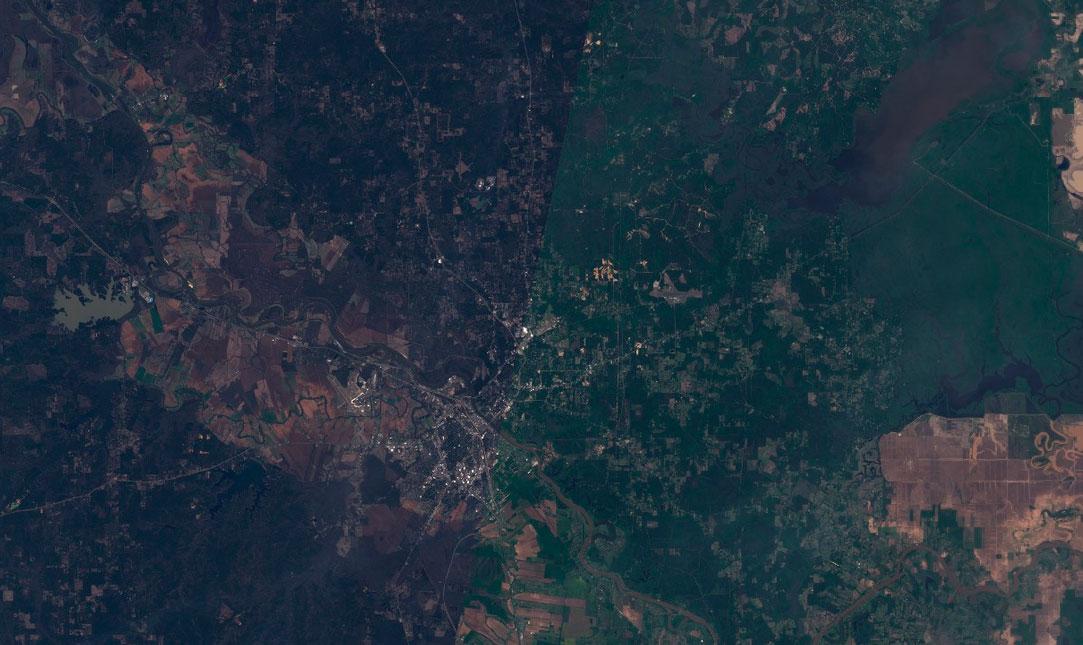 Corrección atmosférica y radiométrica de imágenes satélite