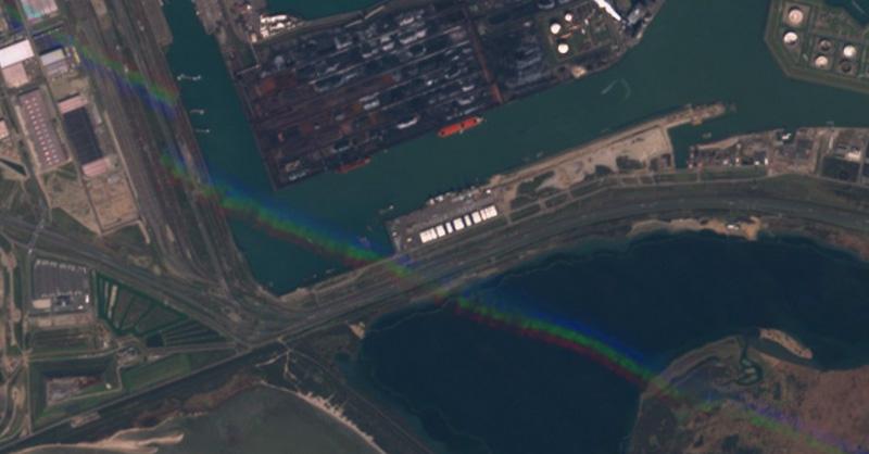 Corrección radiométrica de imágenes satélite