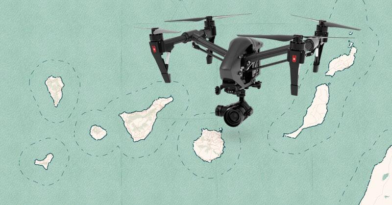 Formación gratuita para operadores de drones en Canarias