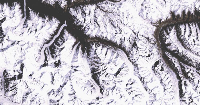 Identificación de avalanchas con teledetección