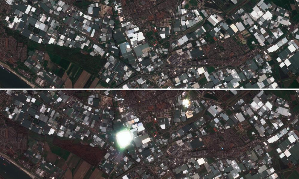 Reflectividad y radiancia de imágenes satélite