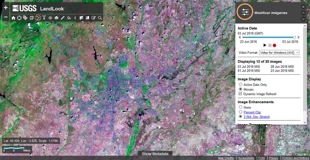 Descargar imágenes satelitales gratis
