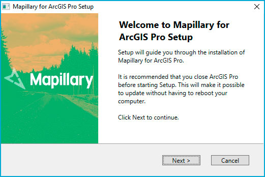 Mapillary for ArcGIS Pro
