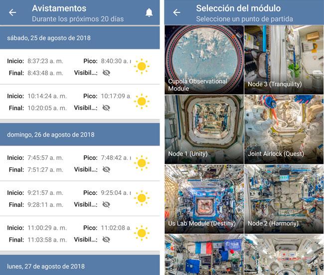 Imágenes de la Estación Espacial Internacional ISS en tiempo real