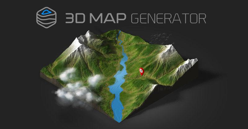 Cómo elaborar infografías de mapas 3D