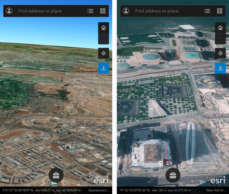 Aplicaciones moviles GIS