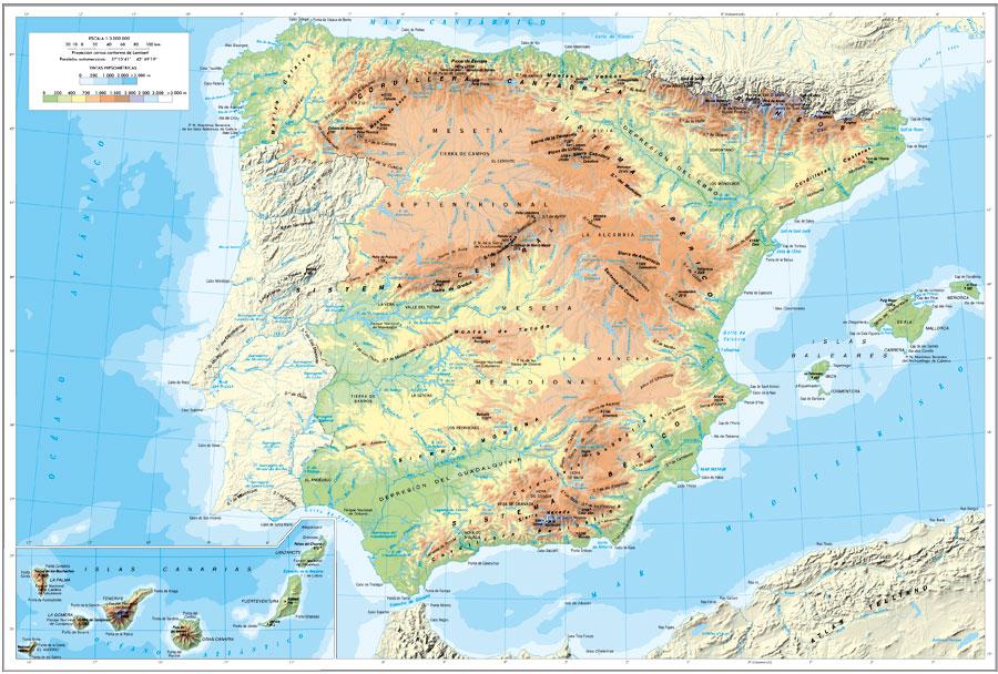 Descargar mapas fisicos y políticos del mundo