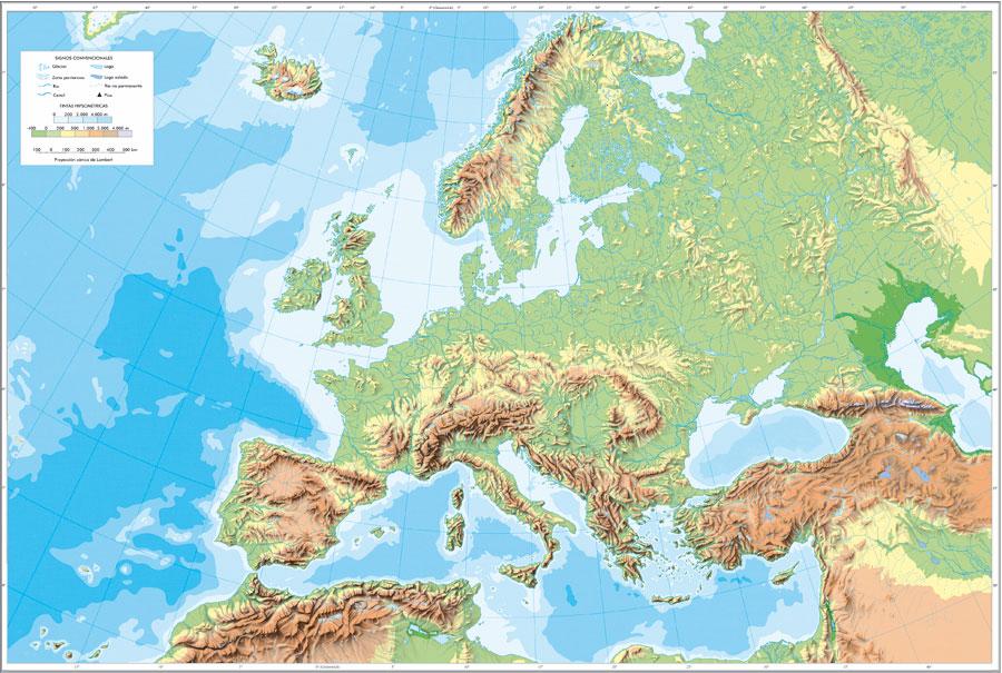 Mapas fisicos y políticos para imprimir y descargar