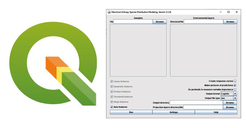 Descargar Maxent para QGIS. Plugin QSDM para modelización de especies