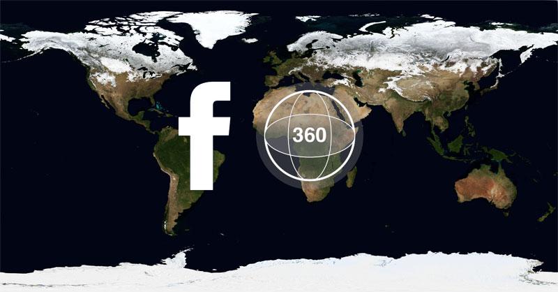 Mapas en 360º para decorar tu Facebook
