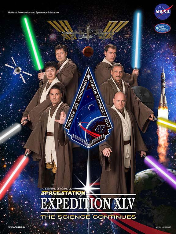 Los curiosos posters frikis de la NASA