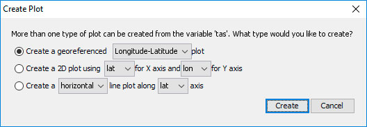 Selección de dimensiones para archivos NetCDF