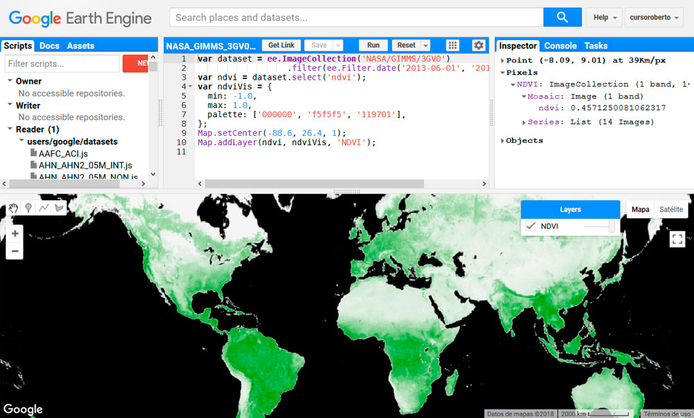 Scripts para Google Earth Engine