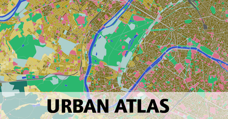 Urban Atlas: el mapa de usos del suelo urbano