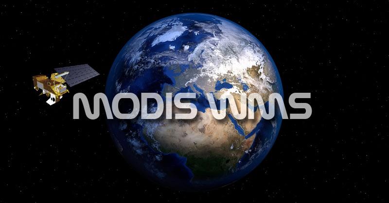 WMS WMTS para imágenes MODIS (Terra/Aqua)