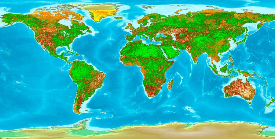 Índice VCI (Índice de Condición de Vegetación)