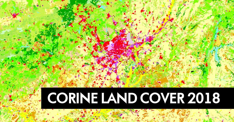 Descarga Corine Land Cover 2018