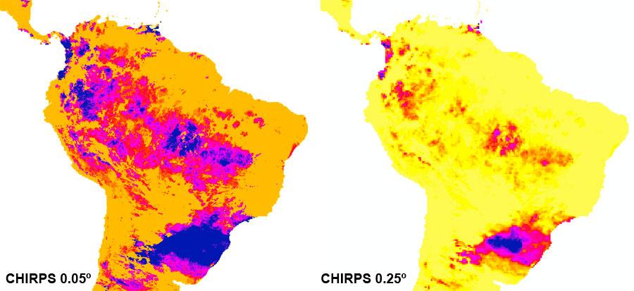 Datos climáticos de precipitación diaria mundial